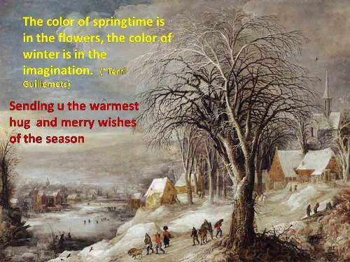 Warm Wishes For The Season Of Winter Free Happy Winter