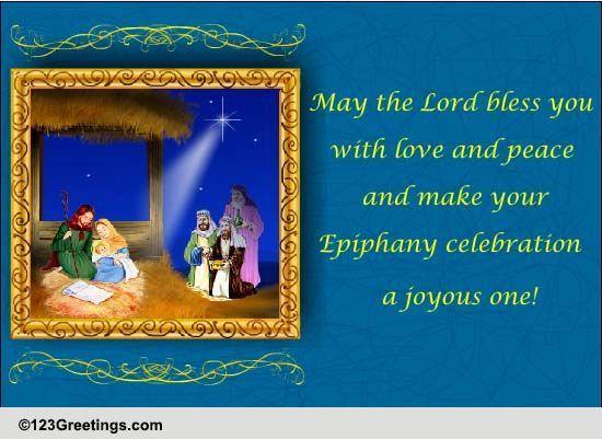 Joyous Epiphany Celebration Free Epiphany ECards