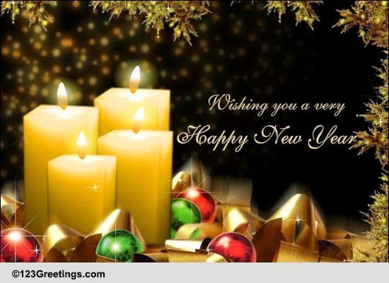 Heartfelt New Year Wishes Free Happy New Year ECards Greeting Cards 123 Greetings