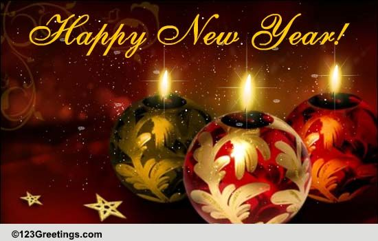 New Year Brings All That Is Beautiful Free Happy New Year