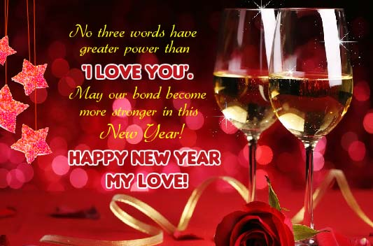 To My Love On This New Year Free Love ECards Greeting Cards 123 Greetings