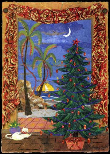Tropical Xmas Free Holiday Cheer ECards Greeting Cards 123 Greetings