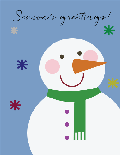 Snowman Greetings Free Warm Wishes ECards Greeting Cards 123 Greetings