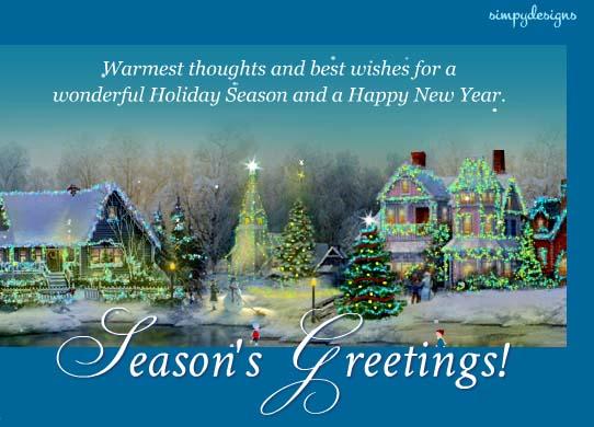 Seasons Greetings Cards Free Seasons Greetings Wishes