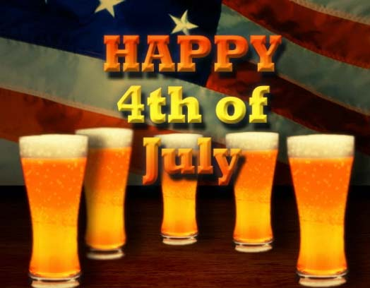 4th Of July Beer Amp Fireworks Free Happy Fourth Of July ECards 123 Greetings