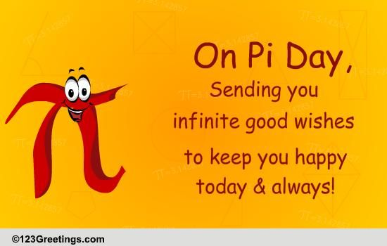 Pi Day Wishes Free Pi Day ECards Greeting Cards 123 Greetings