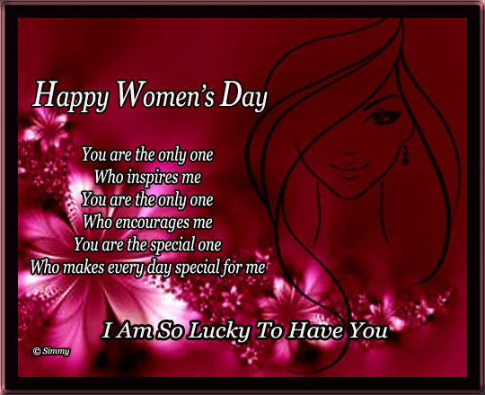 You Are Special Free Happy Womens Day ECards Greeting Cards 123 Greetings