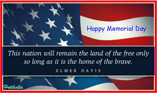 Happy Memorial Day Free Friends Amp Family ECards Greeting Cards 123 Greetings