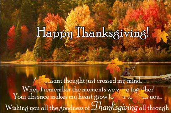 Missing You On Thanksgiving Free Family ECards Greeting