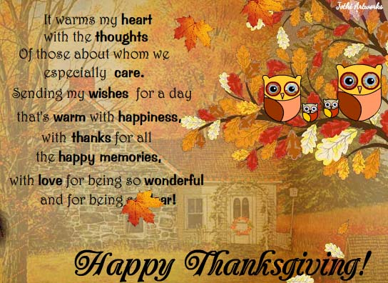 Happy Thanksgiving Wishes Facebook
