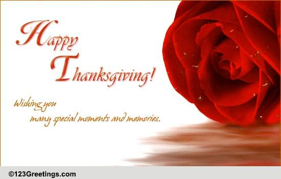 Heartwarming Thanksgiving Wishes Free Happy Thanksgiving ECards 123 Greetings