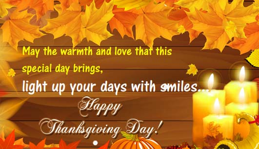 Warm Thanksgiving Wishes Free Happy Thanksgiving ECards 123 Greetings