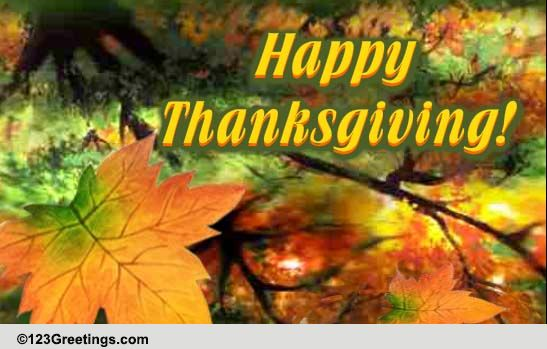 Magic And Joy Of Thanksgiving Free Happy Thanksgiving ECards 123 Greetings