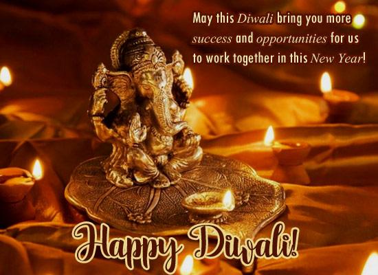 A Corporate Diwali Greetings Free Business Greetings ECards 123 Greetings