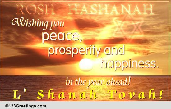Peace Prosperity And Happiness Free Religious Blessings ECards 123 Greetings