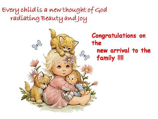 Joyful Welcome To A Baby In Family Free Family Additions