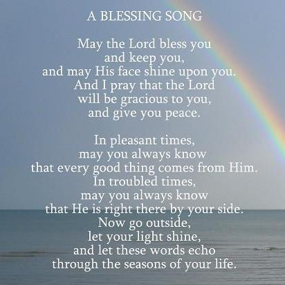 A Blessing Song Free Encouragement ECards Greeting Cards