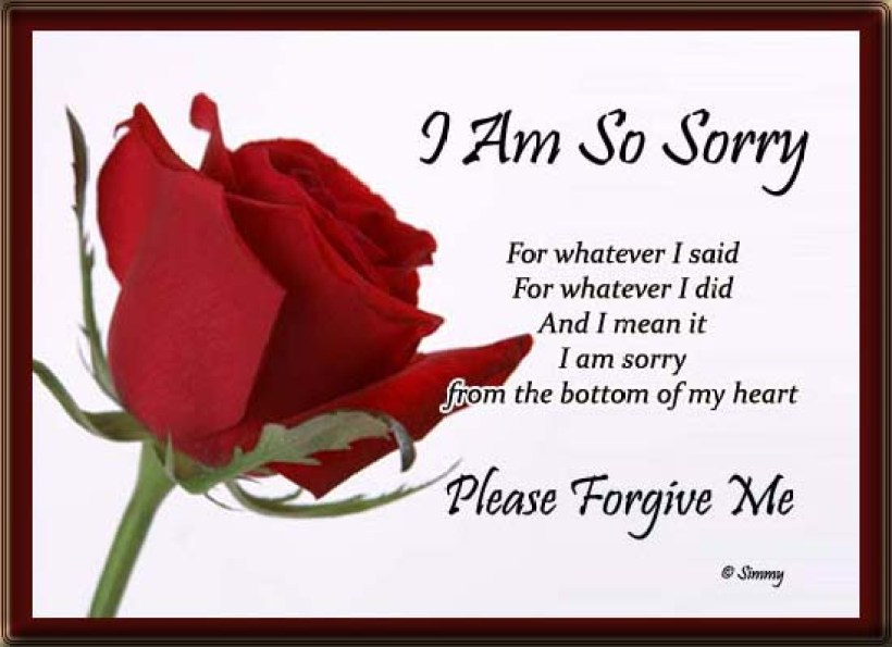 Love I Am Sorry Cards, Free Love I Am Sorry Wishes, Greeting Cards | 123  Greetings