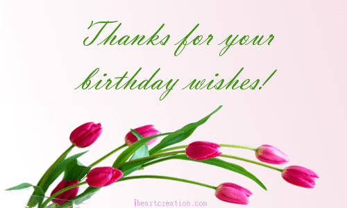 Thank You Greeting Card For Birthday Wishes Billingss