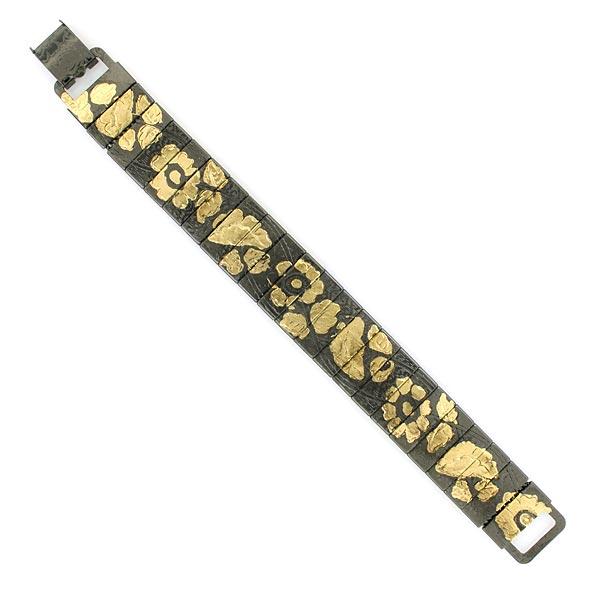 Antiquities Golden Foil Hematite Bracelet