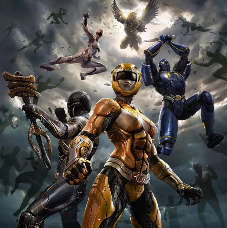 A Gotham Knights-style Power Rangers game - these are the stunning illustrations of the canceled title