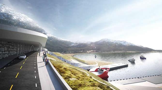Norveç dünyanın ilk gemi tünelini inşa ediyor