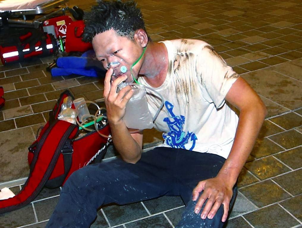 Tayvan'da patlama: 21 yaralı