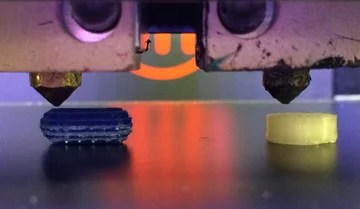 3D printing drugs of different sizes.