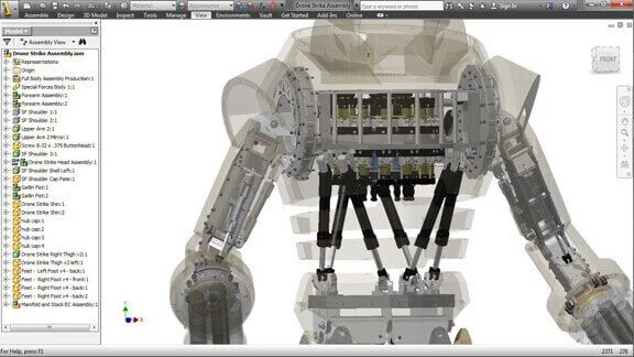 Image of Best 3D Software (3D Modeling Software/3D Design Software): Inventor