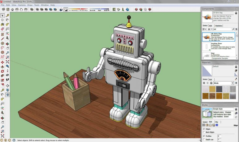 Image of Best 3D Software (3D Modeling Software/3D Design Software): SketchUp
