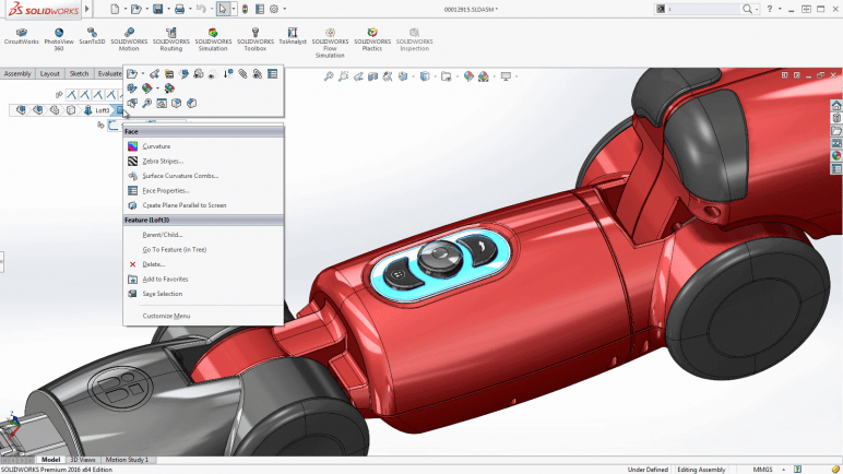 Image of Best 3D Software (3D Modeling Software/3D Design Software): Solidworks