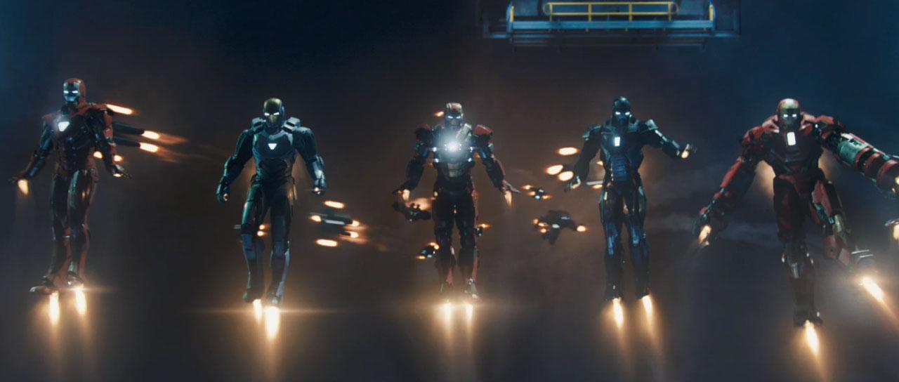 All Armor - Iron Man 3