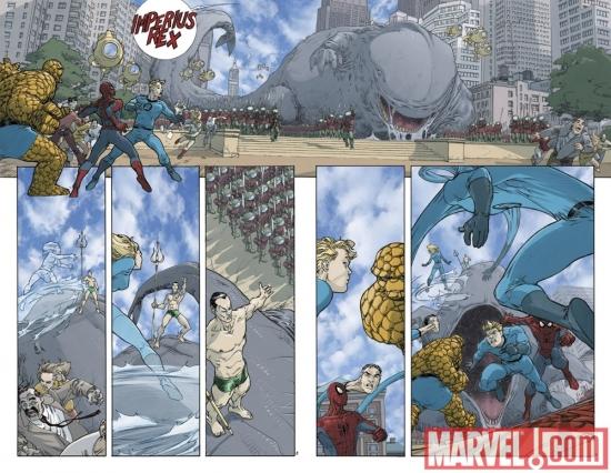 C2E2 Spider-Man/Fantastic Four