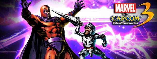 MvC3 Showdown: Magneto vs. Arthur