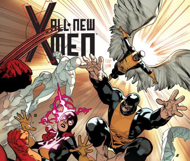 Stuart Immonen cover for All-New X-Men #10 Marvel NOW!