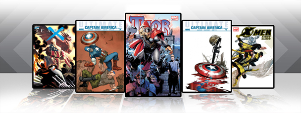 Marvel iPad/iPod App: Latest Titles 4/7/11