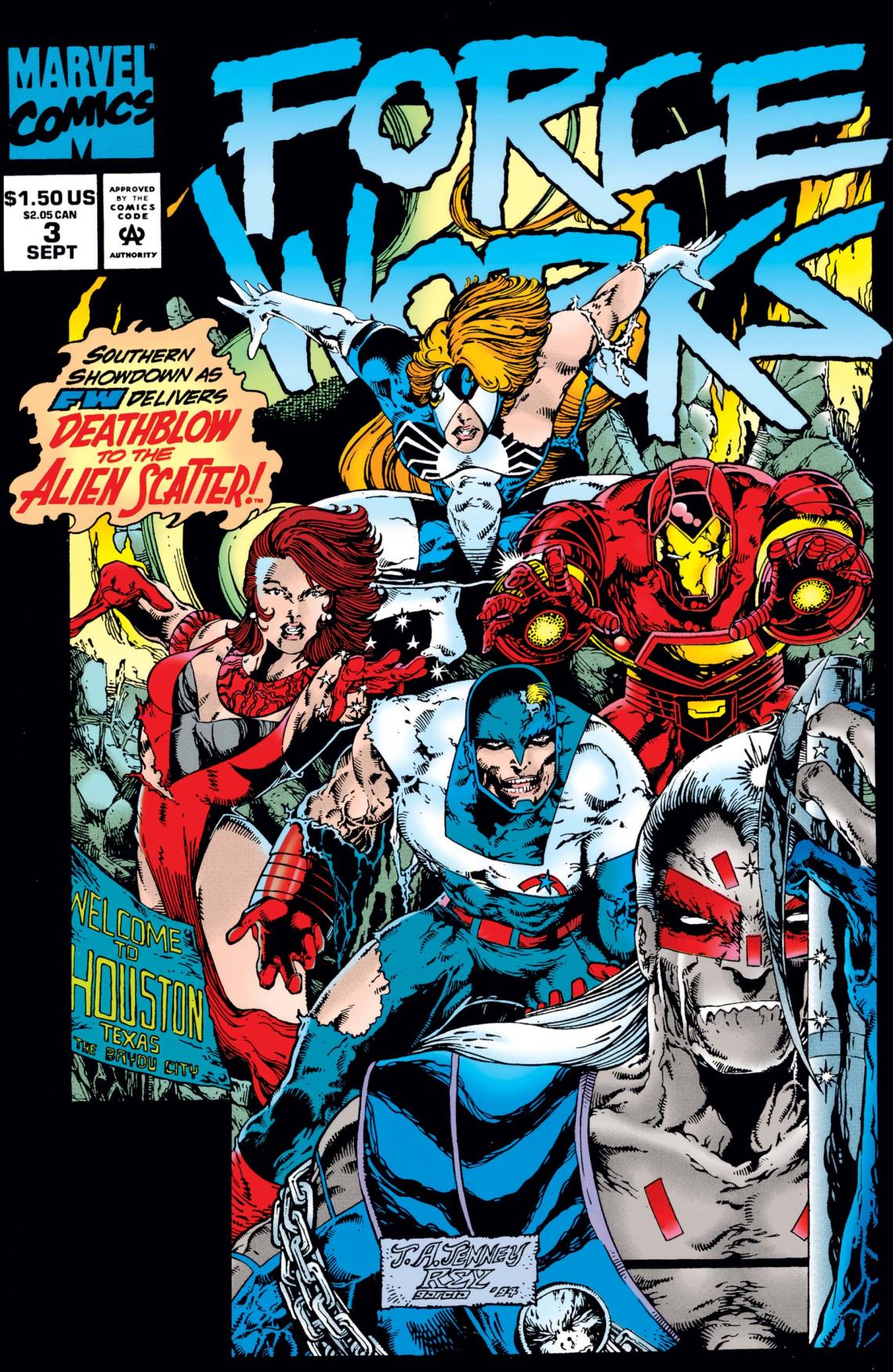 Force Works (1994) #3 | Comic Issues | Marvel
