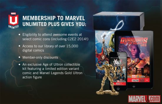 Marvel Unlimited+ at C2E2