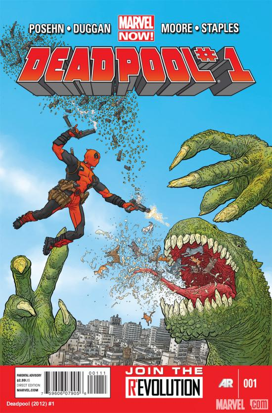 Deadpool #1 (2012) Comic Book Review