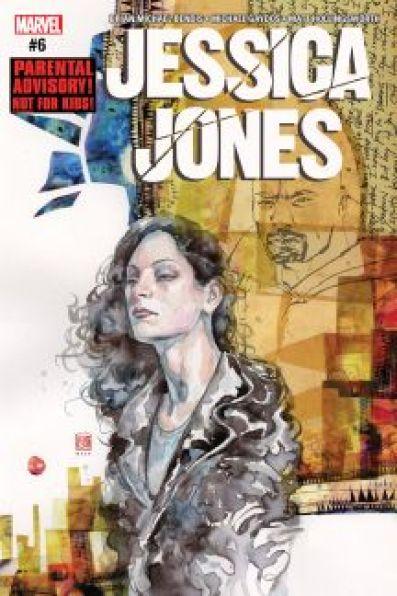 Jessica Jones #6 cover