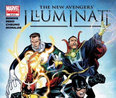 Resultado de imagem para New Avengers Illuminati