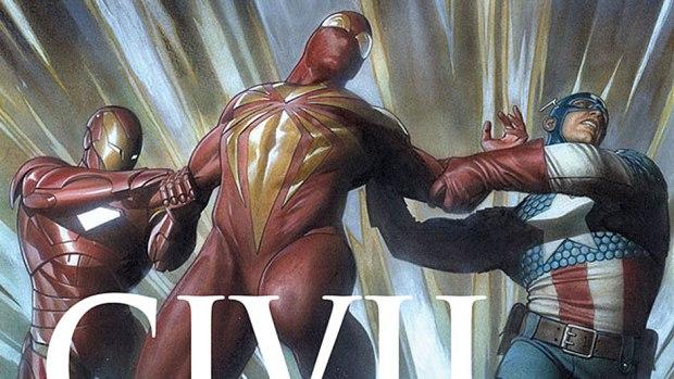Civil War #1 -- Summer 2015