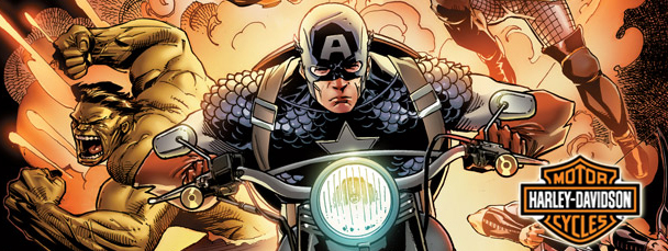 Harley-Davidson and the Avengers Assemble