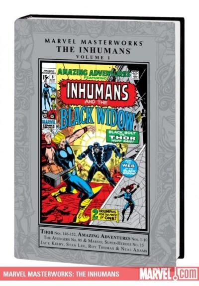 Image result for Marvel Masterworks: The Inhumans Vol. 1