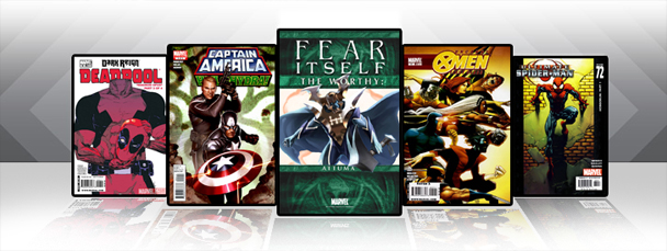 Marvel iPad/iPod App: Latest Titles 6/1/11