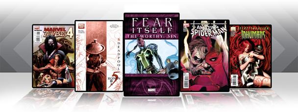 Marvel iPad/iPod App: Latest Titles 4/27/11