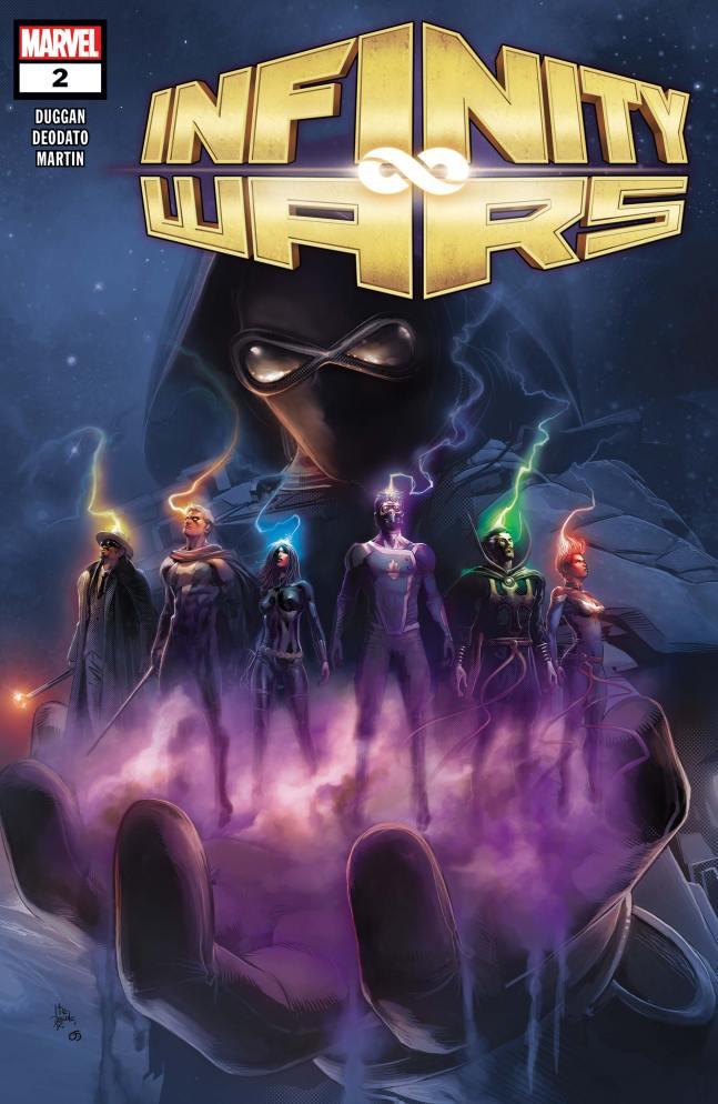 Capa de Infinity Wars #2 por Mike Deodato.