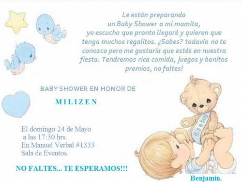 Frases Bonitas Frases Para Invitaciones De Baby Shower Free