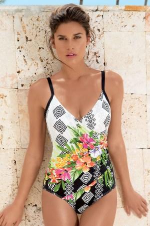 reducere Costum de baie intreg de lux Teresa  efect modelator, cel mai mic pret