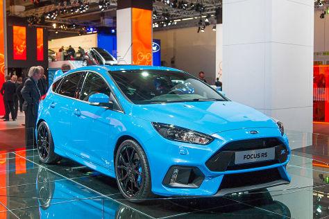 Ford Focus RS IAA 2015 Preis Marktstart Leistung